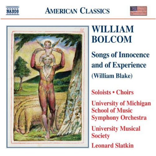 Amazon.com: William Bolcom: Songs of Innocence and of Experience